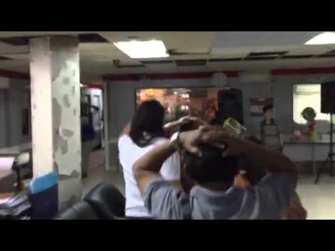 MBC DZRH and FM Stations in Metro Shake Drill 2015