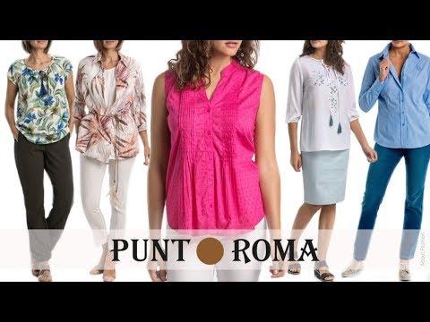 Lo último En CAMISAS Y BLUSAS De PUNT ROMA | Moda Mujeres De 50 Años O Más | Primavera Verano 2018