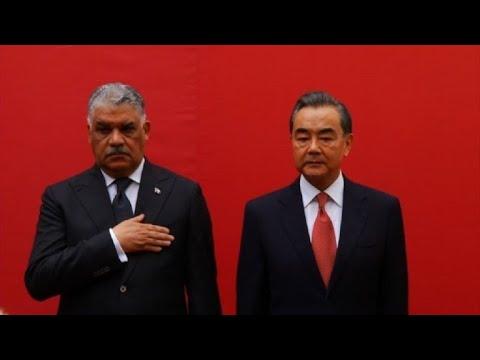 China inaugura embajada en República Dominicana