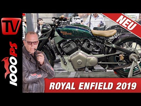Royal Enfield 2019- Twin, V2, Lachgas, Prototyp 838