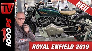 Royal Enfield explodiert - Twin, V2, Lachgas, Prototyp 838
