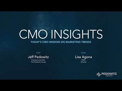 CMO Insights: Lisa Agono, CMO, Ensono