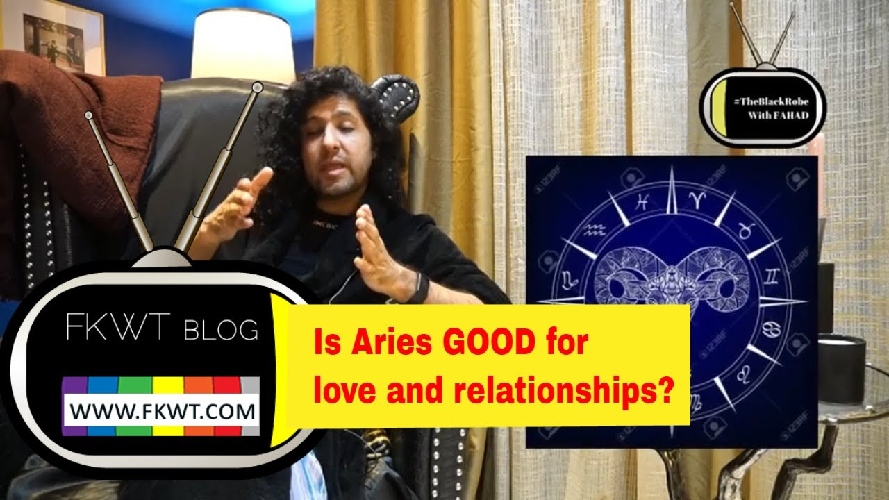 F1 Is #Aries Male & Female good for love and relationship? In The Black Robe With FAHAD