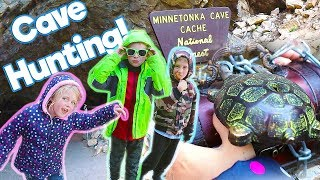 Cave Hunting for Clues From Mr. E On Our Road Trip Adventure!