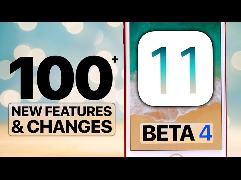 100+ NEW iOS 11 Beta 4 Features & Changes!