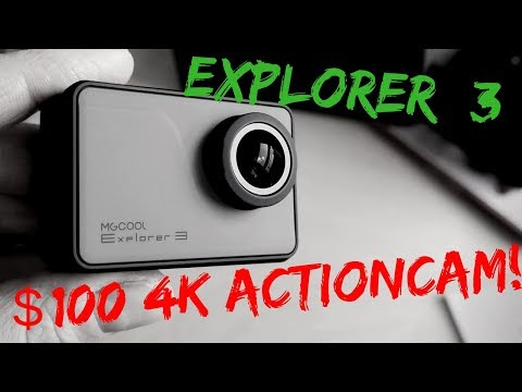 MGCool Explorer 3 [REVIEW]  - 4K action camera with touch screen for less than 100$