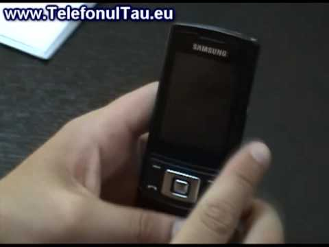 Samsung S3500 Review ( in Romana ) - www.TelefonulTau.eu -