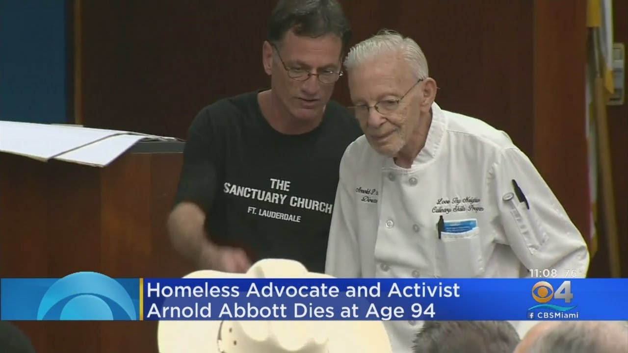 Champion Of The Poor Arnold Abbott Dies At 94