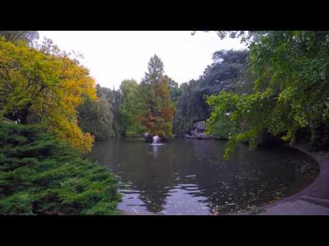Le Parc de la Rhonelle en Valenciennes,France