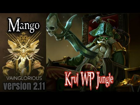 Mango | Krul WP Jungle - Vainglory hero gameplay from a pro player