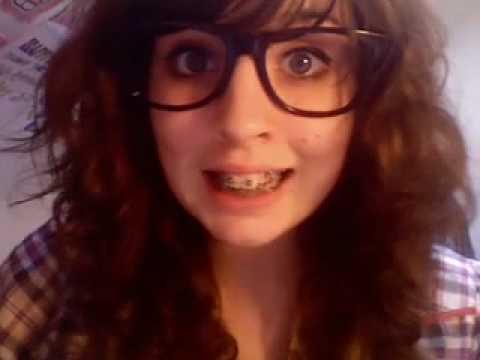 porn Cute nerdy girl