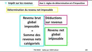 #EP 21 fiscalisé: l'impôt sur le revenu (Calcul de l'IR global annuel)  2/N