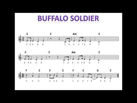 Buffalo Soldier you play the chords