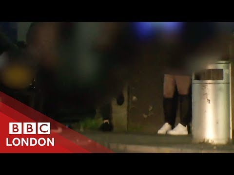 Stopping sex workers 'waiting for business' in Ilford - BBC London