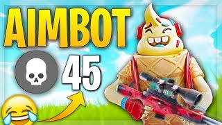 How to use Fortnite AIMBOT.... 😂