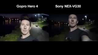 GoPro Hero 4 Silver/Black Low Light Performance Test