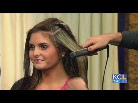 Hairstyles for a night on the town from Double Take Salon