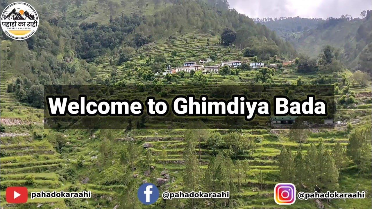Ghimdiya Bada Village || Pahado Ka Raahi