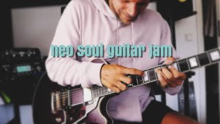 Neo Soul Guitar Jam | D'Angelico Deluxe SS and Kemper Profiler