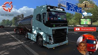 Euro Truck Simulator 2 (1.35)   Volvo FH16 2012 Reworked v3.1.4 1.35 x by Eugene Germany Revisiting Phase 2 by SCS Schwarzmuller Cistern Trailer by SCS Software + DLC's & Mods https://steamcommunity.com/sharedfiles/filedetails/?id=768459474  Support me pl