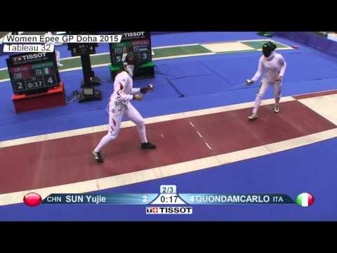 FE W E Individual Doha GP 2015 T32 02 red QUONDAMCARLO  ITA vs SUN CHN