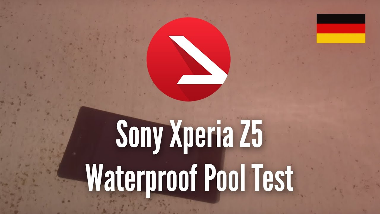 Multitabs Für Pool Test Sony Xperia Z5 Waterproof Pool Test 4k Uhd Youtube