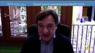 Maradona, la confessione di Myrta Merlino: