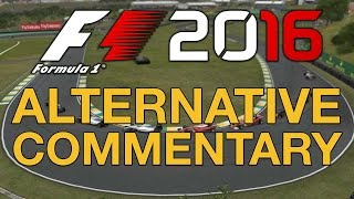 F1 2016's Commentary Is A Bit Weird