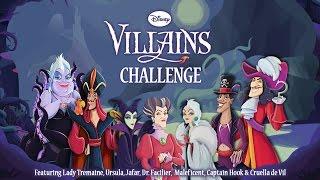 Disney Villains Challenge - Best App For Kids - iPhone/iPad/iPod Touch
