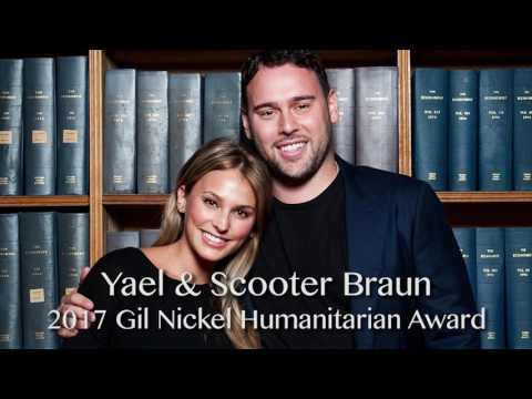 Yael & Scooter Braun honored at UCLA Jonsson Cancer Center's Taste for a Cure 2017 James Corden Mp3