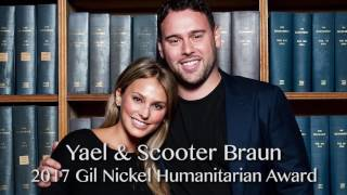 Yael & Scooter Braun honored at UCLA Jonsson Cancer Center's Taste for a Cure 2017 James Corden