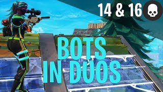 14 & 16 Kill Games - Bots Everywhere! Fortnite Battle Royale Gameplay