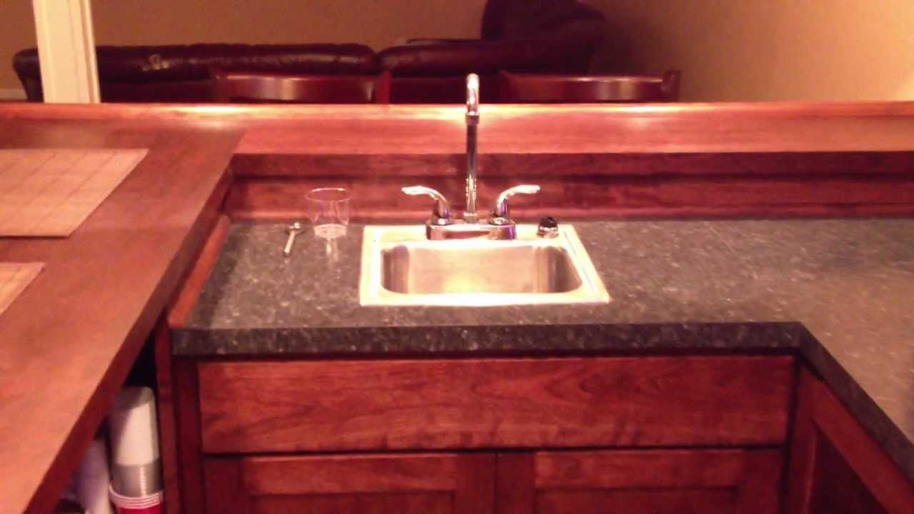 Ohio Basements Custom Built Home Wet Bar   YouTube
