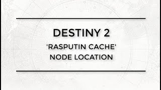Nascent Dawn Rasputin Cache - ccwlounge com