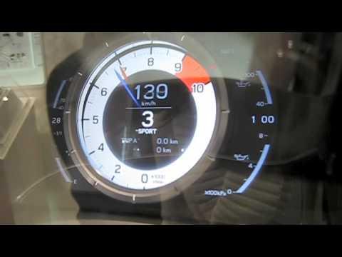 LFA Speedometer