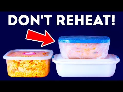 You Can't Reheat Some Foods Under Any Circumstances