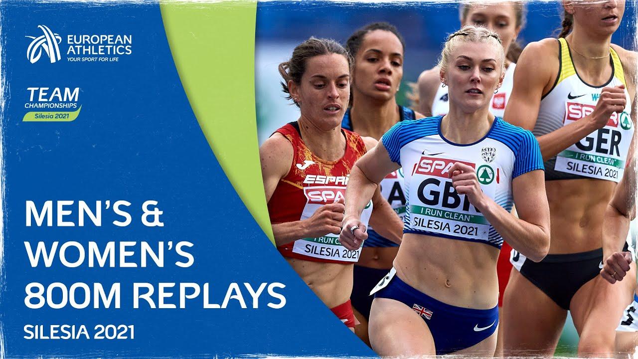 800m Replays - Team Championships Silesia 2021