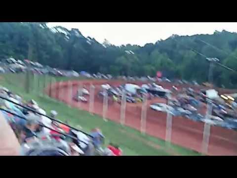 Stock V8's @ Winder Barrow Speedway 06/06/2015
