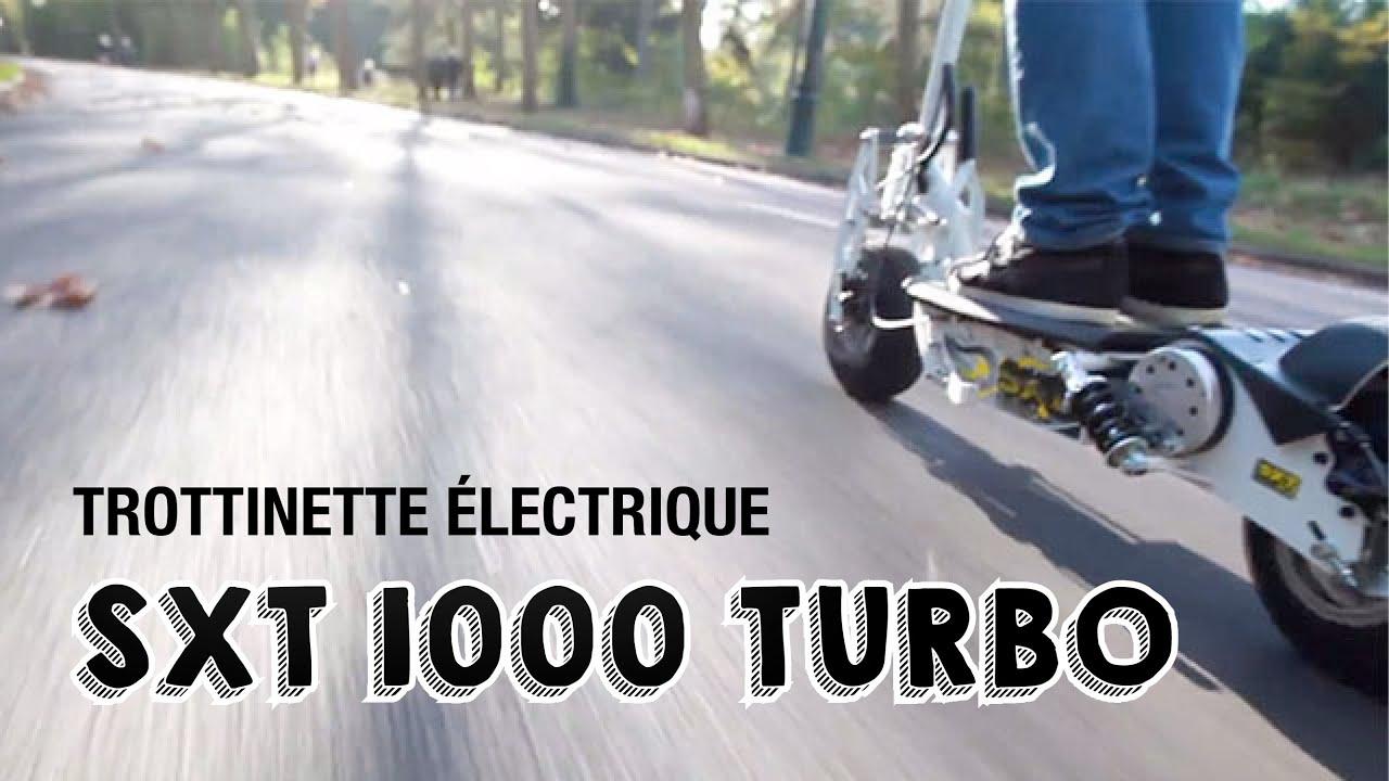 trottinette electrique sxt turbo