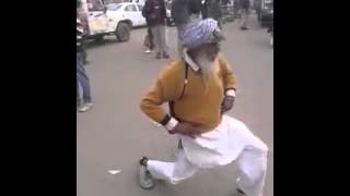 Random old guy dancing to a Indian song