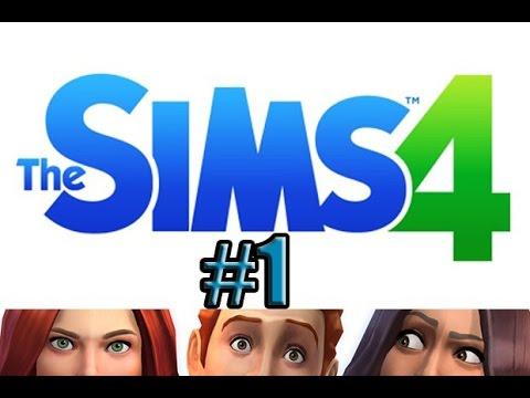 The Sims 4| Ep.1| I Look Good!! (Make a Sim)