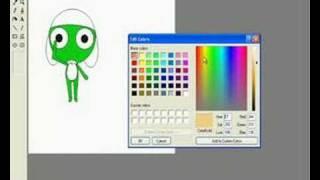 Draw Keroro In MS Paint