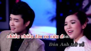 Gambar cover [Karaoke - Beat] LK Tình Nghèo Có Nhau & Ước Mộng Đôi Ta - Thiên Quang ft Quỳnh Trang
