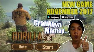 Game Baru Ini Grafiknya Mantap Sudah - Gorilla Animals Hunting 3D Wild Apes Shooting 2018