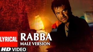 "Lyrical Video Song ""RABBA"" Male Version Sukhwinder Singh 