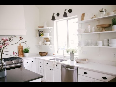 How To Style a Minimalist Kitchen