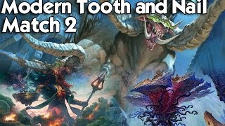 MTG Modern: Tooth and Nail vs Infect - Playing on a Budget
