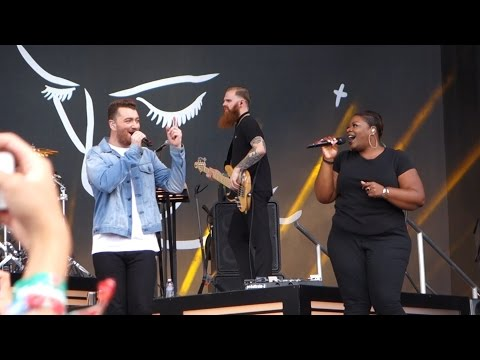 Sam Smith - Tears Dry On Their Own / Ain't No Mountain High Enough – Outside Lands 2015