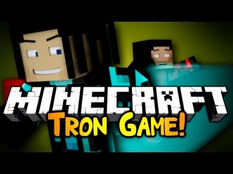 Minecraft: Mini Game: Tron!