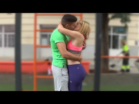 Kissing Prank - GONE HOME!